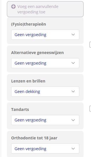 Hoe vergelijk je zorgverzekeringen op Zorgverzekerinq.nl?