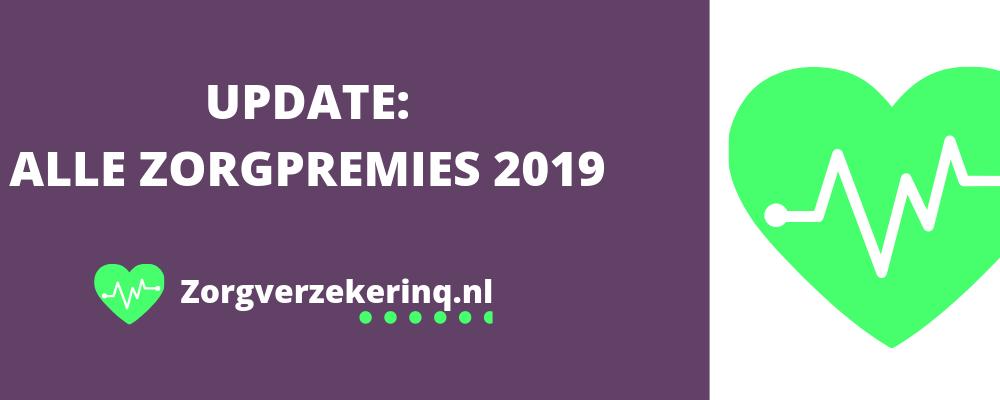 Update: alle zorgpremies 2019
